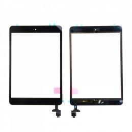 Vitre tactile iPad Mini 1/2 Noir compatible