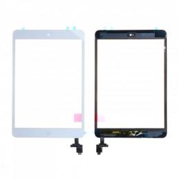 Vitre tactile iPad Mini 1/2 Blanc compatible