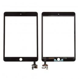 Vitre tactile iPad Mini 3 Noir compatible