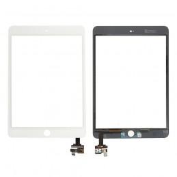 Vitre tactile iPad Mini 3 Blanc compatible