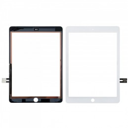 Vitre tactile iPad 6 2018 Blanc Original
