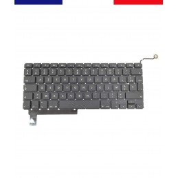 "Clavier Français AZERTY Apple MacBook Pro 15"" 2009 à 2012 A1286"