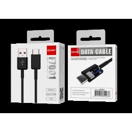 Câble Type C 1,2m - Noir