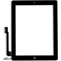 Vitre tactile iPad 4 Noir...