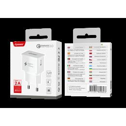 Prise secteur USB - Blanc