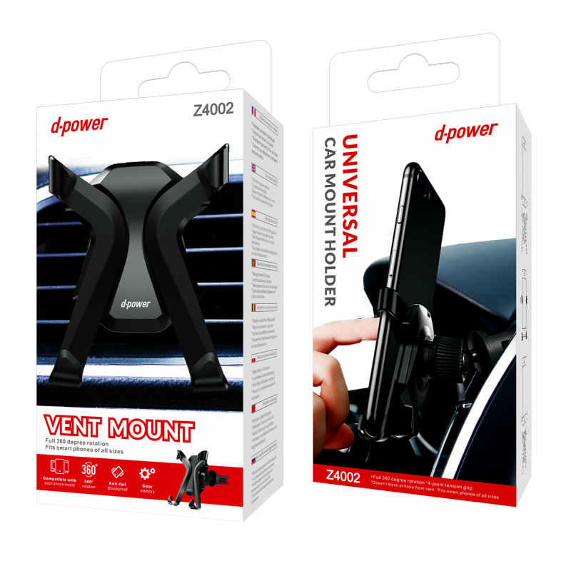 Support voiture model X - Blanc